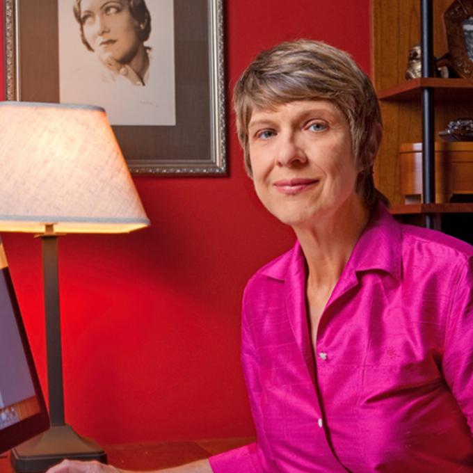 Headshot of Gaylyn Studlar
